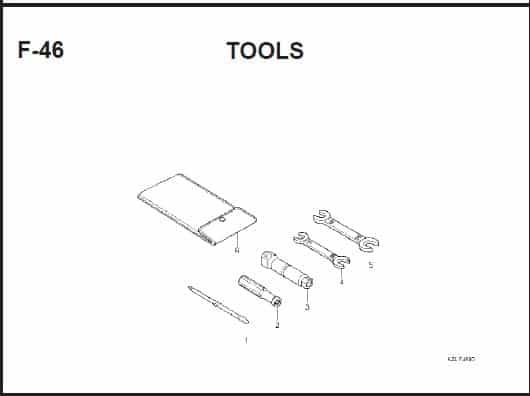 F-46 Tools – Katalog Suku Cadang Honda Spacy