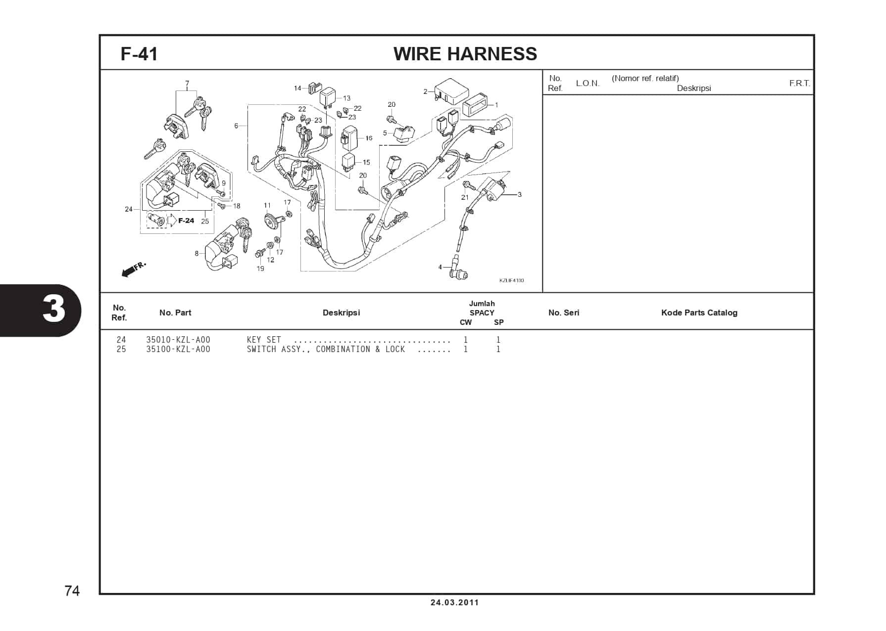 F-41 WIRE HARNESS