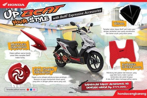 Aksesoris Honda BeAT Expressive