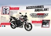 Aksesoris Resmi Honda CB150R StreetFire