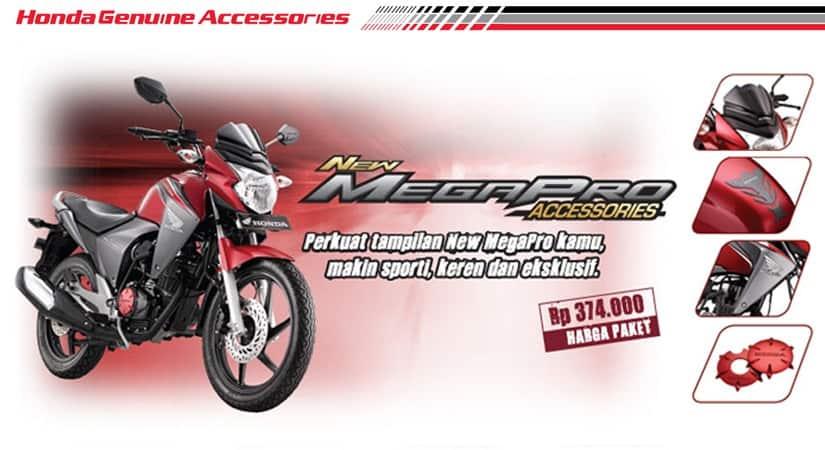 Aksesoris Resmi Honda New Mega Pro