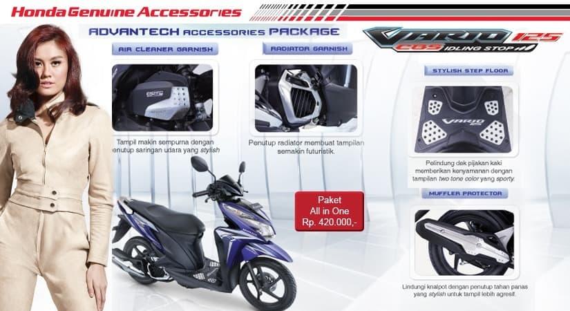 Aksesoris Resmi Honda Vario Techno 125