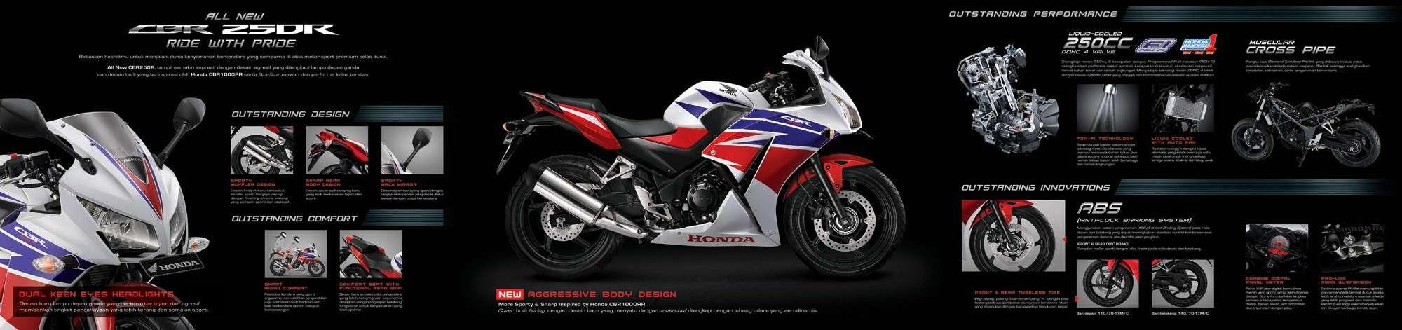 Brosur Motor Honda CBR 250R - 2
