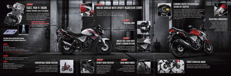 Brosur Motor Honda New Mega Pro FI - 2