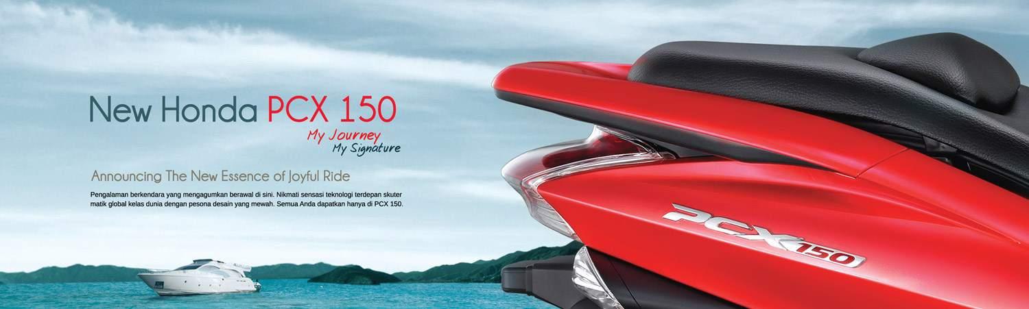 Brosur Motor Honda PCX 150