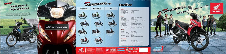 Brosur Motor Honda Revo FI