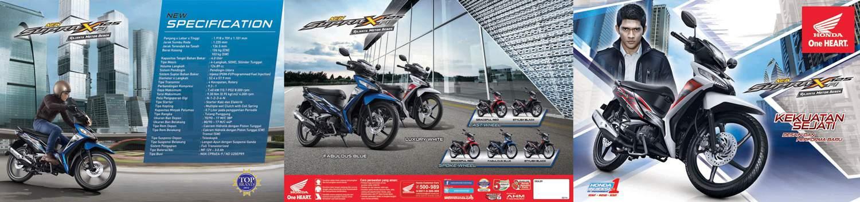Brosur Motor Honda Supra X 125 FI