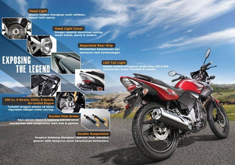 Brosur Motor Honda Tiger