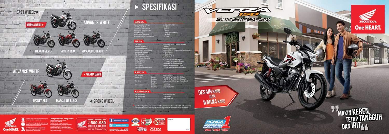 Brosur Motor Honda Verza