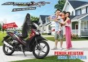 Brosur Motor Honda Supra X 125 Helm-In PGM-FI