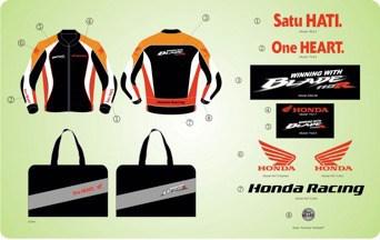 Gambar Jaket Exclusive Honda Blade Feb - Maret 2013