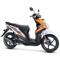 Honda BeAT FI CW Samba Orange