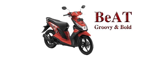 Honda BeAT Groovy Red