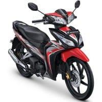 Honda Blade 125 FI R Hitam Merah