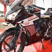 Honda CBR 150R Black Truss Frame