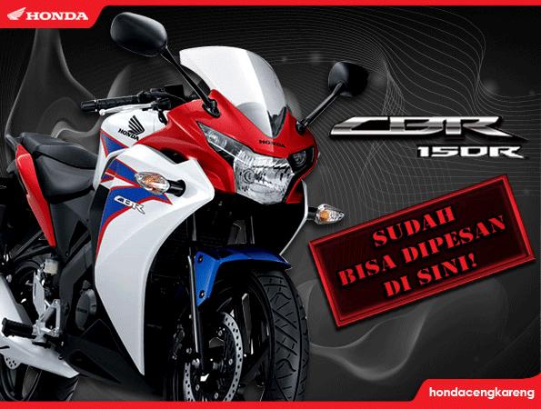 Honda CBR 150R dapat dipesan disini