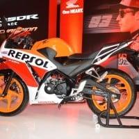 Honda CBR 150R Tampilan Samping