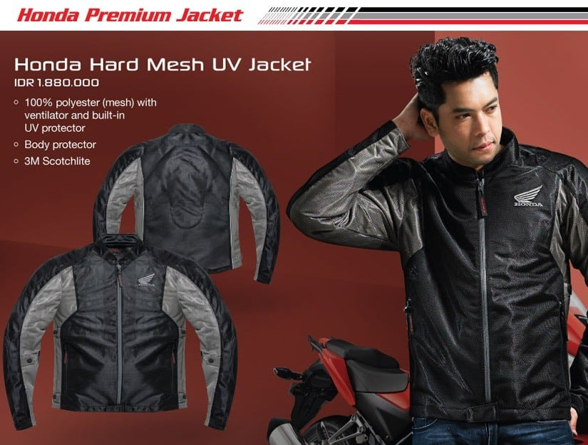 Honda Hard Mesh UV Jacket