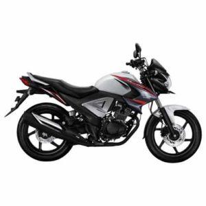 Honda New Mega Pro FI White