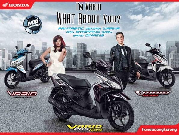 Honda Rilis Warna Dan Striping Baru Vario Series