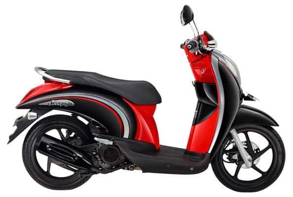 Honda Scoopy Cayenne Black