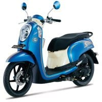 Honda Scoopy FI Urban Blue