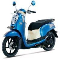 Honda Scoopy FI Urban Blue
