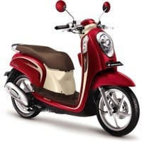 Honda Scoopy FI Vogue Red