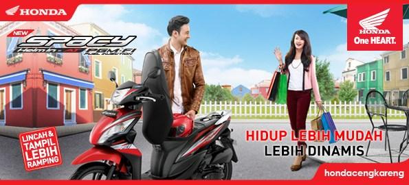 Honda Spacy Helm-In PGM-FI Hadir Lebih Sporti