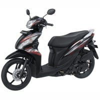 Honda Spacy Hitam