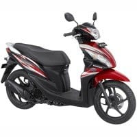 Honda Spacy Merah