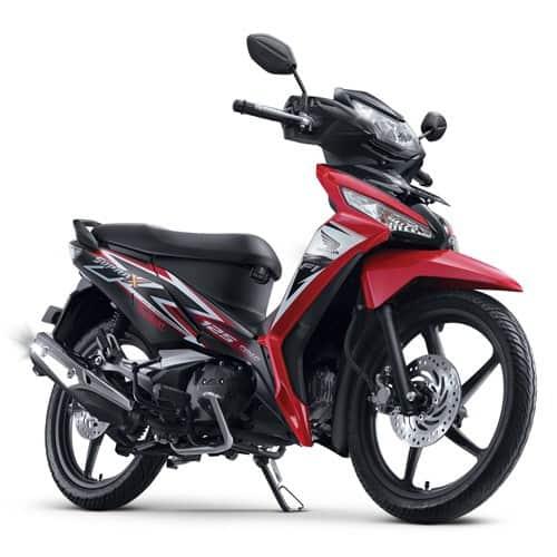 Honda Supra X 125 FI CW Red