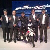 Honda Supra X 125 FI Dirilis Dengan Teknologi Injeksi Desain Yang Tajam
