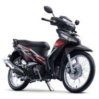 Honda Supra X 125 FI STD Black