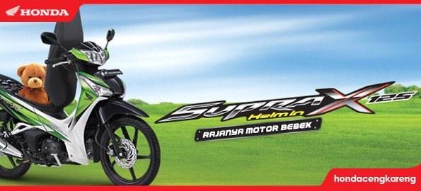Honda Supra X 125 Helm In - Motor Bebek Dengan Bagasi Besar
