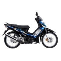 Honda Supra X 125 STD Black Blue