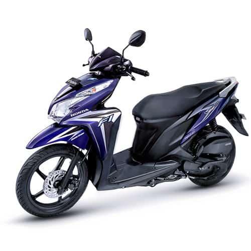 Honda Vario Techno 125 Cbs Iss Blue Rp 17120000 Honda