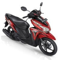 Honda Vario Techno 125 CBS Lunar Red