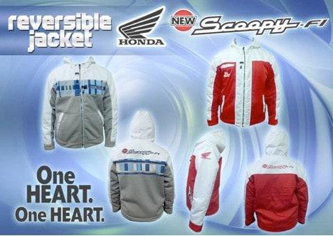 Jaket Exclusive Honda Scoopy FI