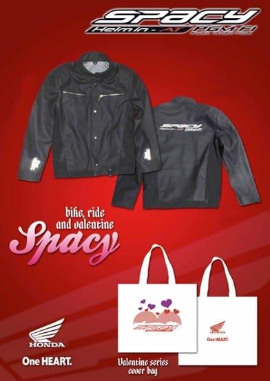 Jaket Spacy Promo Valentine 2012