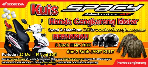 Pemenang Kuis Spacy Honda Cengkareng