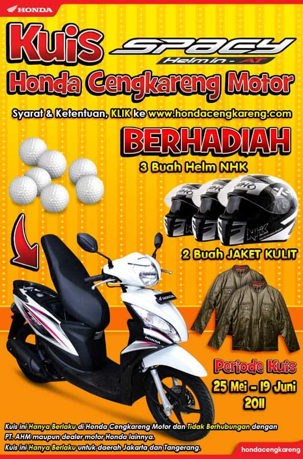 Kuis Spacy Honda Cengkareng