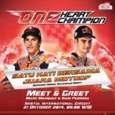 Meet & Greet Marc Marquez Dan Dani Pedrosa . Gratis !!!
