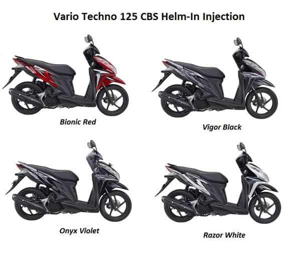 Pilihan Warna Vario Techno 125 CBS