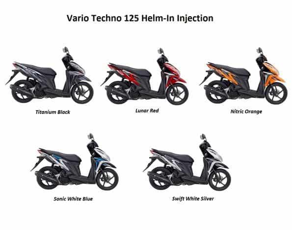 Pilihan Warna Vario Techno 125