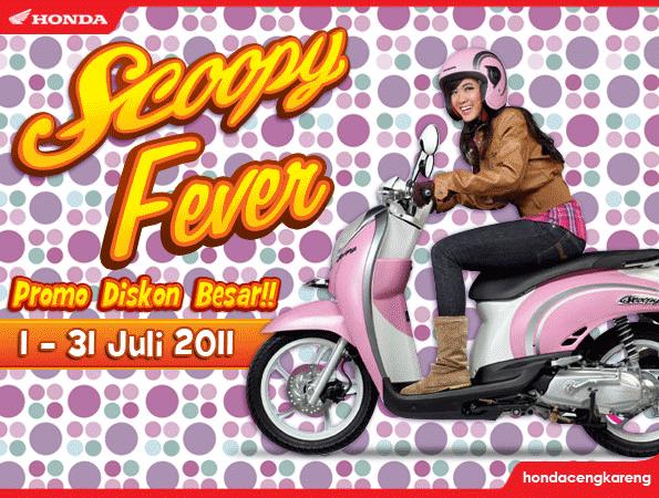 Promo Honda Scoopy Fever