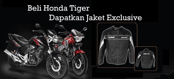 Promo Honda Tiger berhadiah