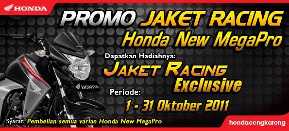 Promo Jaket Racing Exclusive Honda New Mega Pro