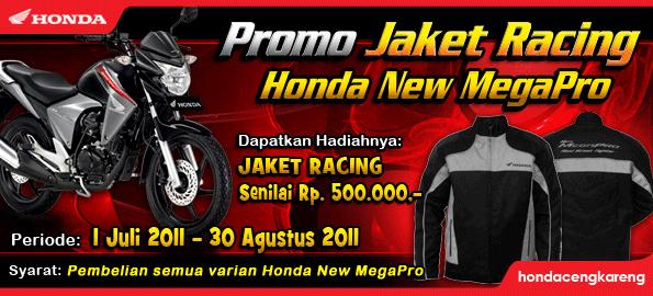 Promo Jaket Racing Honda New Mega Pro