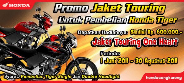 Promo Jaket Touring Honda Tiger